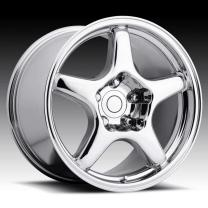 Corvette C4 ZR1 Chrome 17X11 5X4.75 - 36