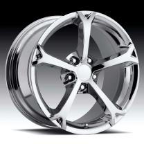 Corvette C6 Grandsport Chrome 17X8.5 5X4.75 - 56
