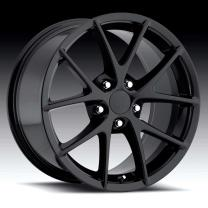 Corvette C6 Spyder Gloss Black 17X8.5 5X4.75 - 56