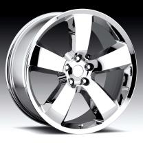 Dodge Charger Chrome 20X9 5X115 - 20