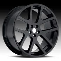 Dodge Viper Gloss Black 22X10 5X115 - 18