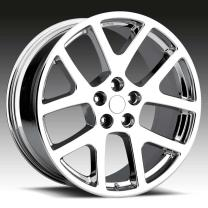 Dodge Viper Chrome 22X10 5X115 - 18
