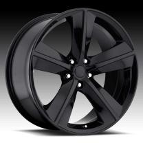 Dodge Challenger Gloss Black 20X9 5X115 - 20