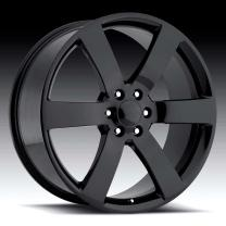Chevrolet TrailBlazer SS Gloss Black 20X10 6X5 - 45