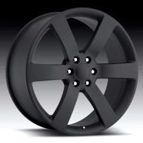 Chevrolet TrailBlazer SS Satin Black 20X8 6X5 - 45