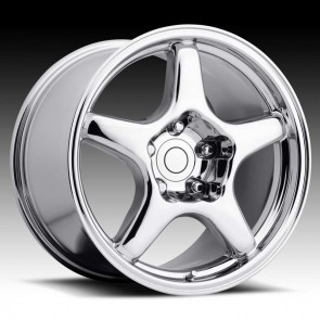 Corvette C4 ZR1 Chrome 17X11 5X4.75 - 50