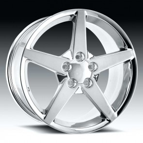 Corvette C6 05-07 Chrome 17X9.5 5X4.75 - 54