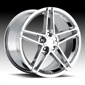 Corvette C6 Z06 Chrome 18X10.5 5X4.75 - 58