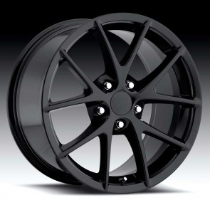Corvette C6 Spyder Gloss Black 19X12 5X4.75 - 56