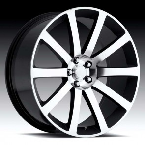 Chrysler 300c Machine/Black 22X9 5X115 - 18