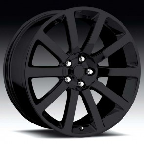 Chrysler 300c Gloss Black 20X9 5X115 - 18