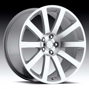 Chrysler 300c Machine/Silver 22X9 5X115 - 18