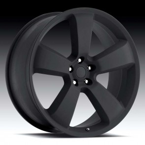Dodge Charger Satin Black 20X9 5X115 - 20